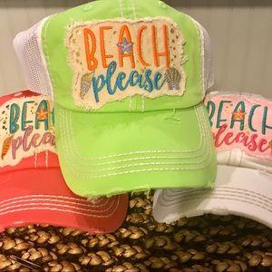 Beach Please Cap